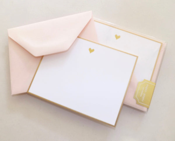 Sweet Heart Note Cards - Lily Charleston