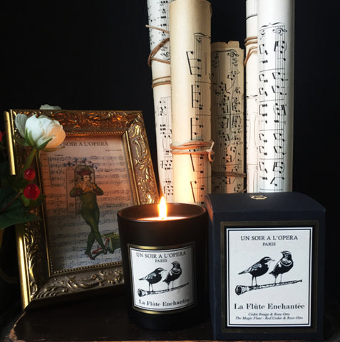 Magic Flute Candle - Lily Beaufort
