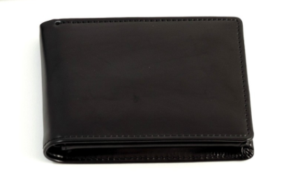 Black Leather Wallet - Lily Charleston