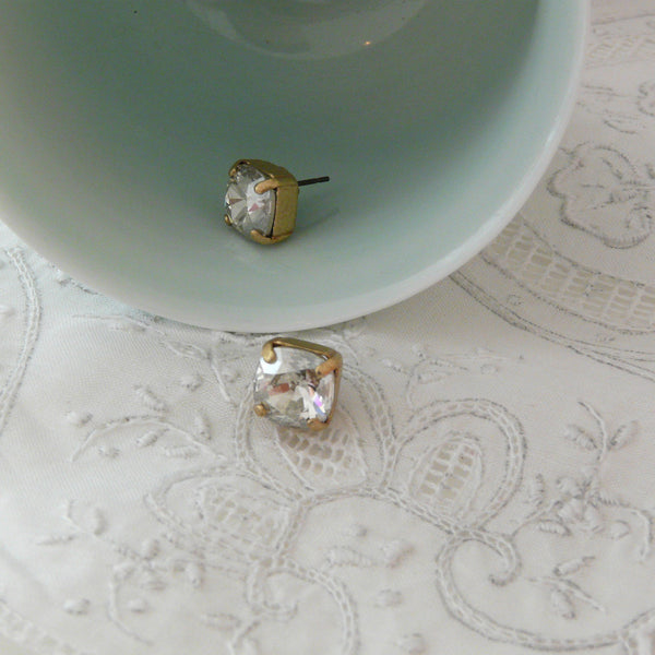 La Vie Parisienne Shade Post Earrings - Lily Charleston