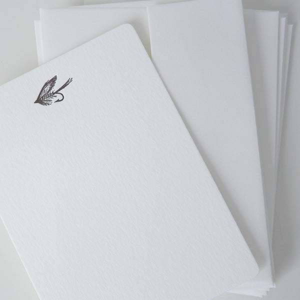 Fishing Fly Notecards, Lily, Lily Charleston