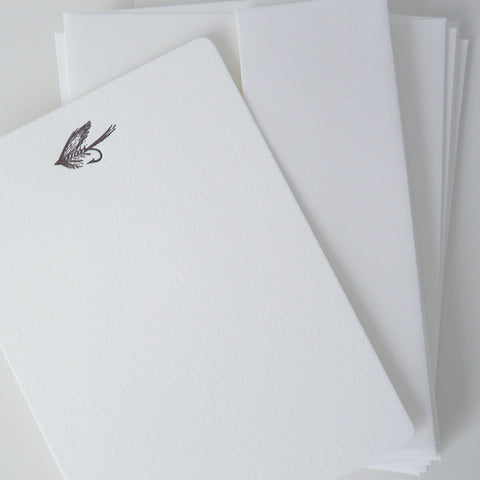 Fishing Fly Note Cards - Lily