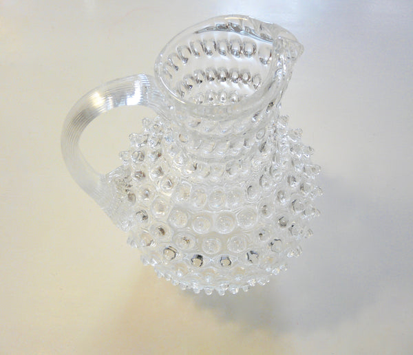 Hobnail Crystal Pitcher - Lily Charleston