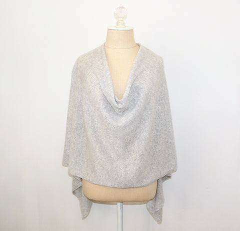 Gray Cashmere Wrap - Lily Charleston