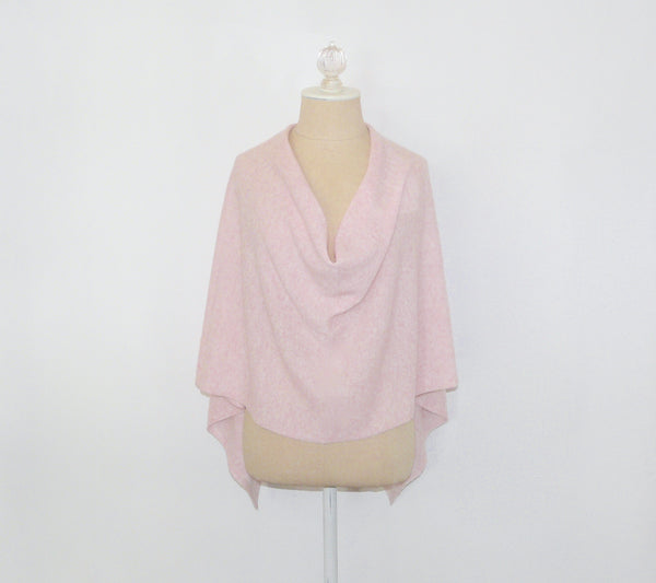 Pink Cashmere Wrap - Lily Beaufort