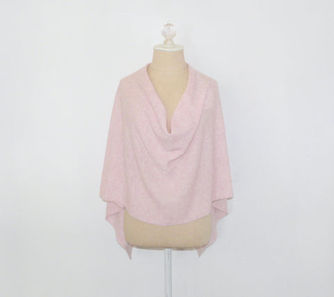 Pink Cashmere Wrap - Lily Charleston