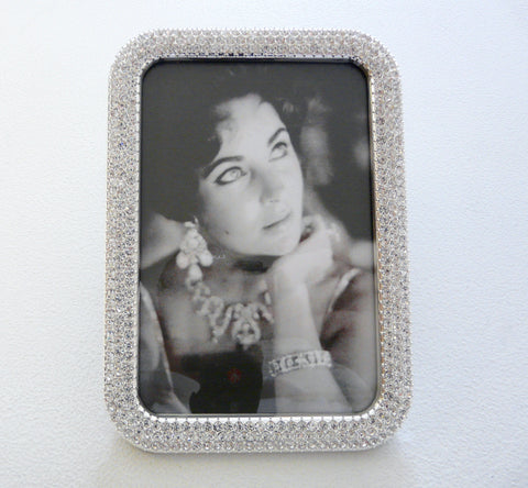 Crystal Encrusted Frame - Lily Charleston