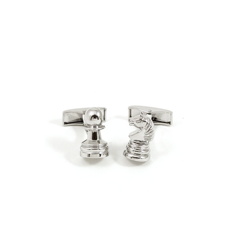 Pawn and Knight Cufflinks