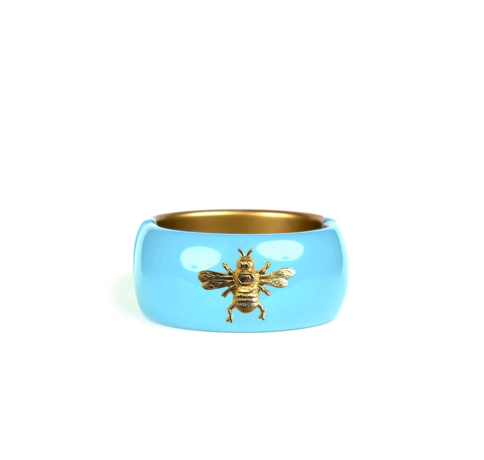 Lisi Leach Turquoise Bee Cuff