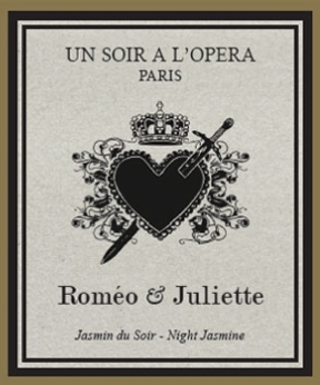 Romeo & Juliet Candle