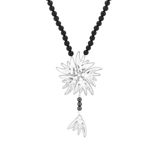 Lalique Hirondelles Necklace - Lily Beaufort