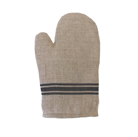 Thieffry Frères Linen Oven Mitt - Lily Charleston