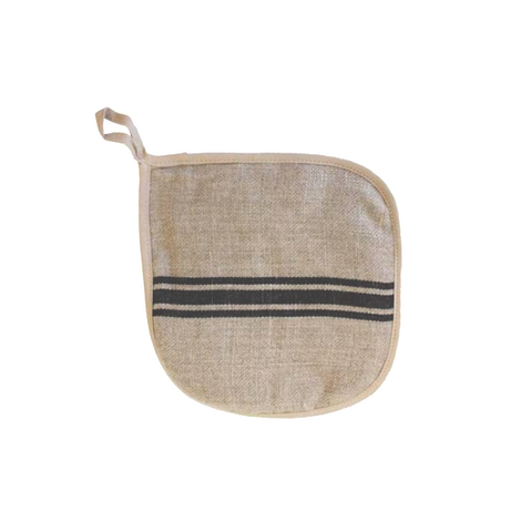 Thieffry Frères Linen Pot Holder - Lily Charleston