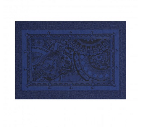 Porcelaine Placemat ~ Chinois Bleu - Lily Beaufort