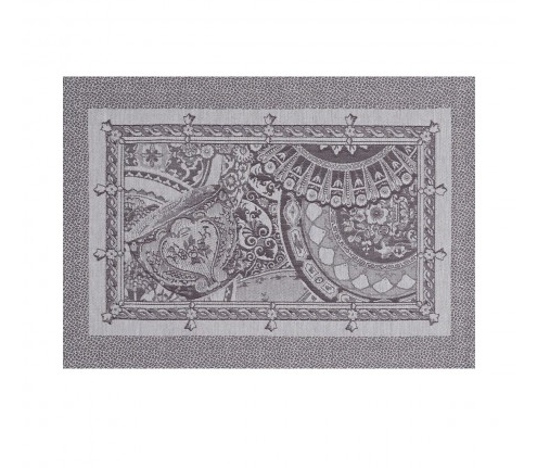 Porcelaine Placemat ~ Kaolin - Lily Beaufort