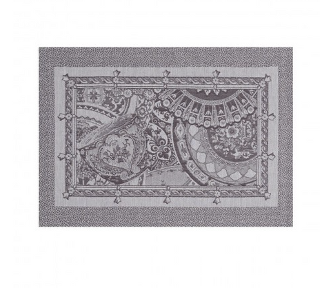 Porcelaine Placemat ~ Kaolin - Lily Charleston