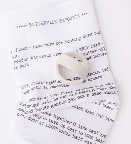 Heirloomed Buttermilk Biscuits Tea Towel