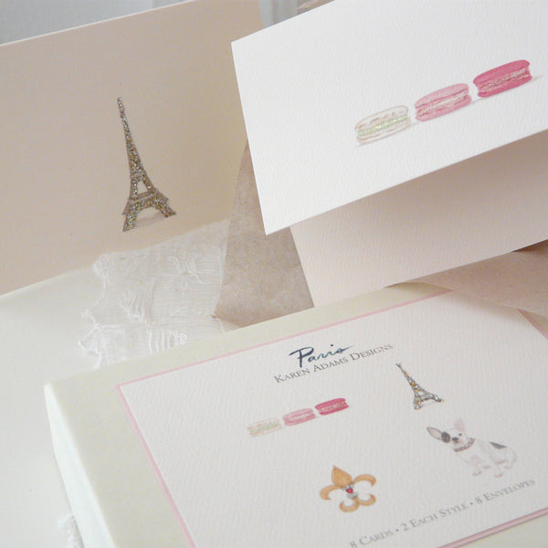 Paris Note Cards Karen Adams