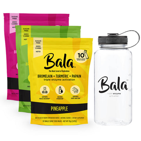 Bala Triple Enzyme Activation Mini 3 Flavor Bundle