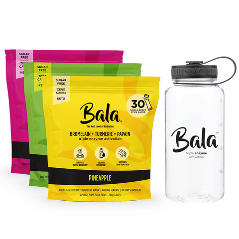 Bala Triple Enzyme Activation 3 Flavor Bundle
