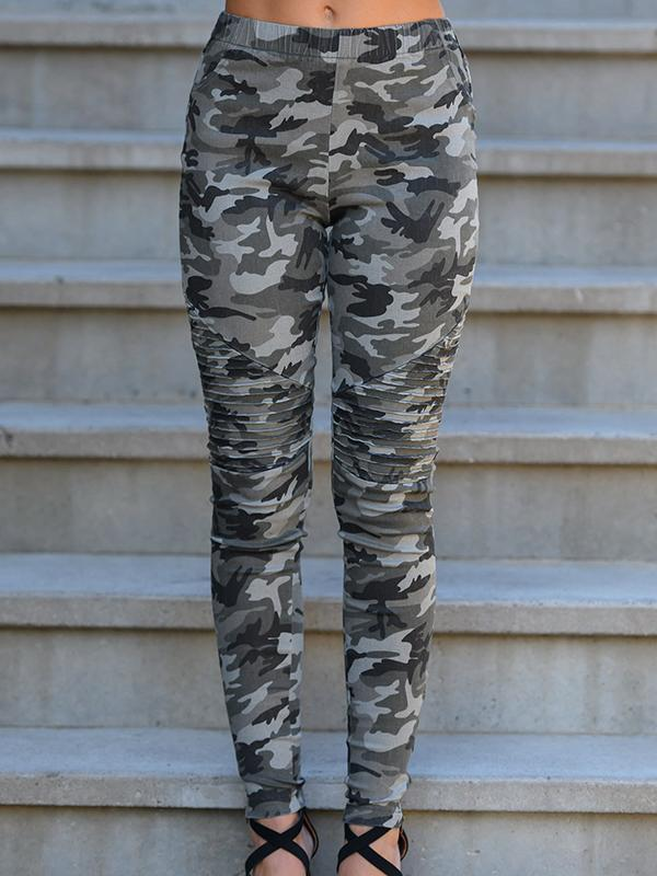Camouflage Printed Pants