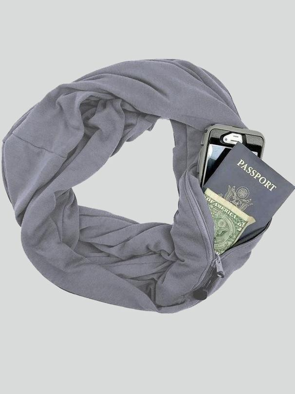 Multi-Way Infinity Convertible Pocket Scarf
