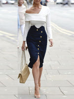 Cold Shoulder Street Style Blouse