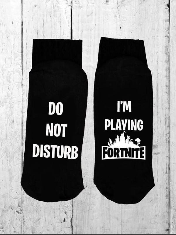 Do Not Disturb Socks