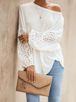 Adorable Long Sleeve Knit Top