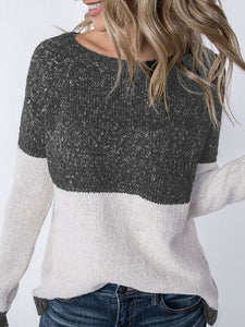 Super Soft Color Block Sweater