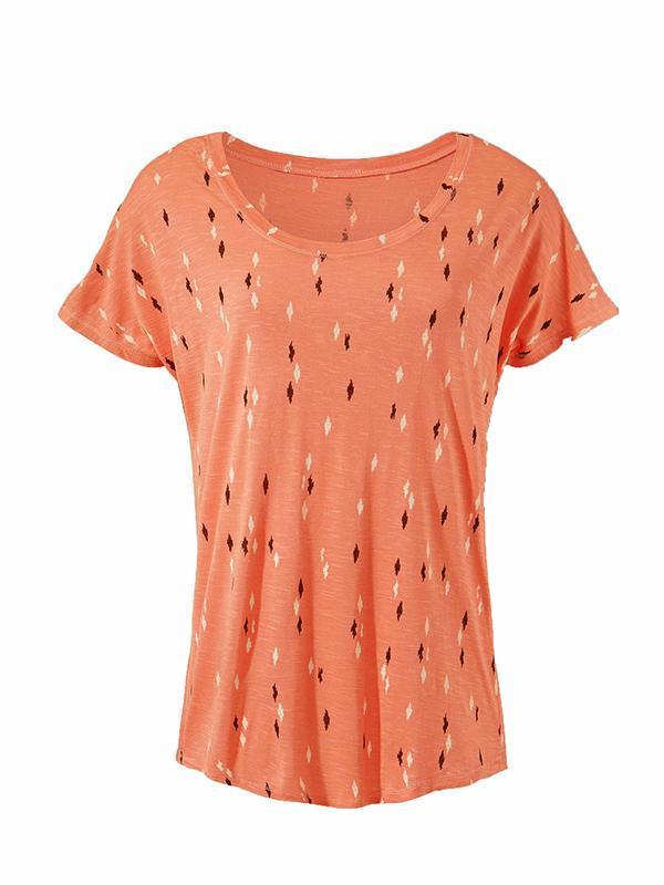Summer Printed Casual T-shirt