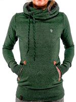 Hooded Long Sleeve Pocket Hoodie