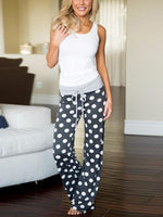 Relaxed Floral Printed Long Pants