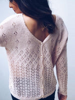 Solid Knitted Hole Cardigan