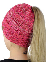 Solid Letter Warm Knitted Hat