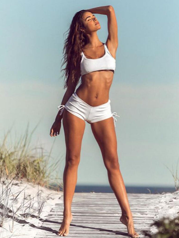 High Waist Sport Beach Swimwear