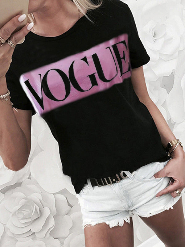 Vogue Neon Color T-shirt
