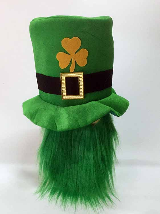 Funny Green Clover Elf Hat Headband Holy Irish Patrick Party Costume