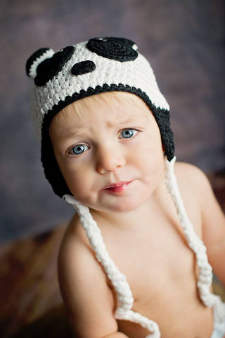 100% hypoallergenic cotton Crochet Hat