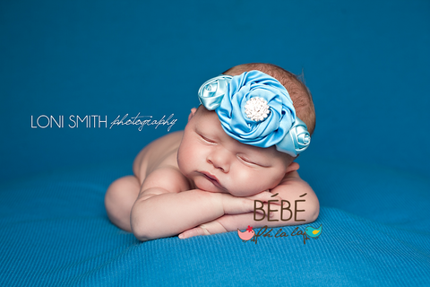 Baby Blue Lina Headband