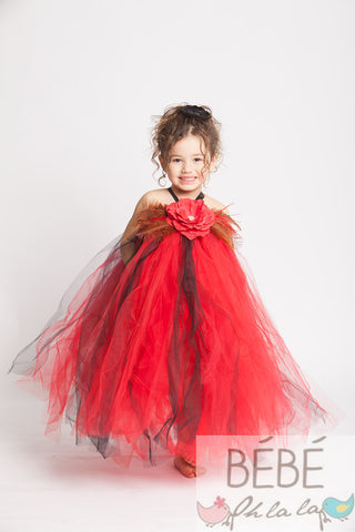 Red Valentina Tutu Dress