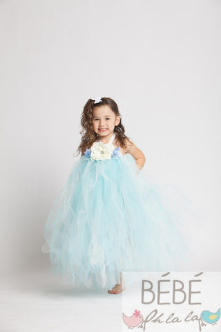 Baby Blue Valentina Tutu Dress
