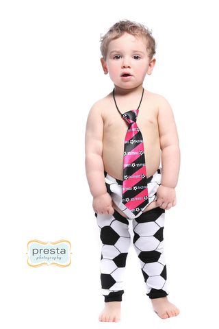 Soccer Arm and Leg Warmers for Infants, Babies, Toddlers and Young Children: Black and White