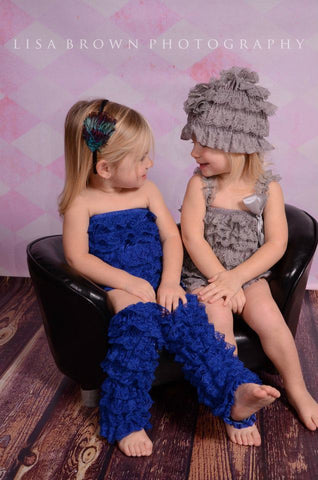 Royal Blue Lace leg Warmers for Infants, Babies, Toddlers and Children