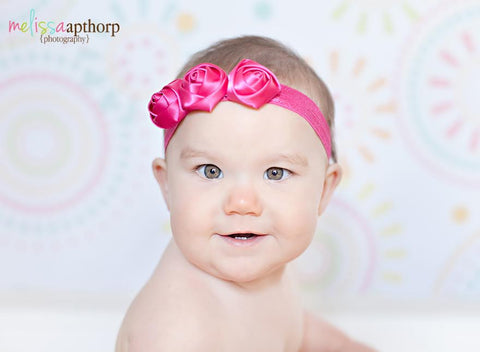 Hot Pink Emma Headband
