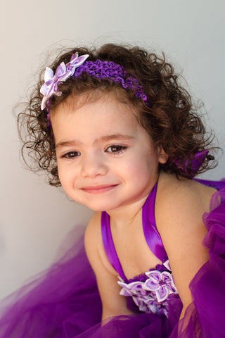 Purple Tutu Dress for Infants, Toddlers and Young Girls