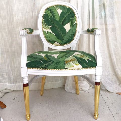 Banana Gold Armchair | WOODLAND