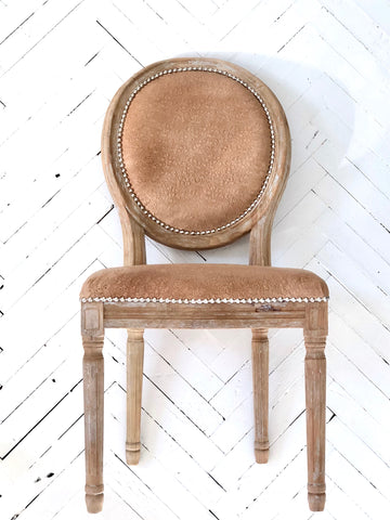 Bone Appetit Leather Dining Chair