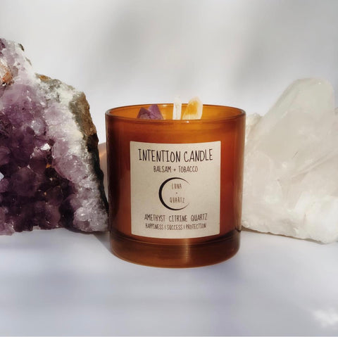 Candle | Balsam + Tobacco Intention Candle