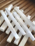 "Crystal Selenite Wand XL 8"" Metaphysical Crystals"